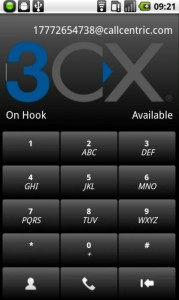 3CXPhone for Android